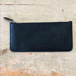 ♥️ Coach ♥️ Black Leather Wallet